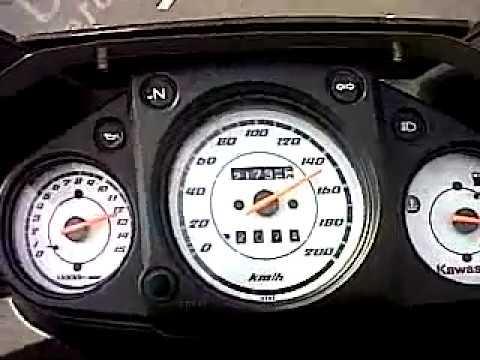 Berapa top speed ninja 250 fi
