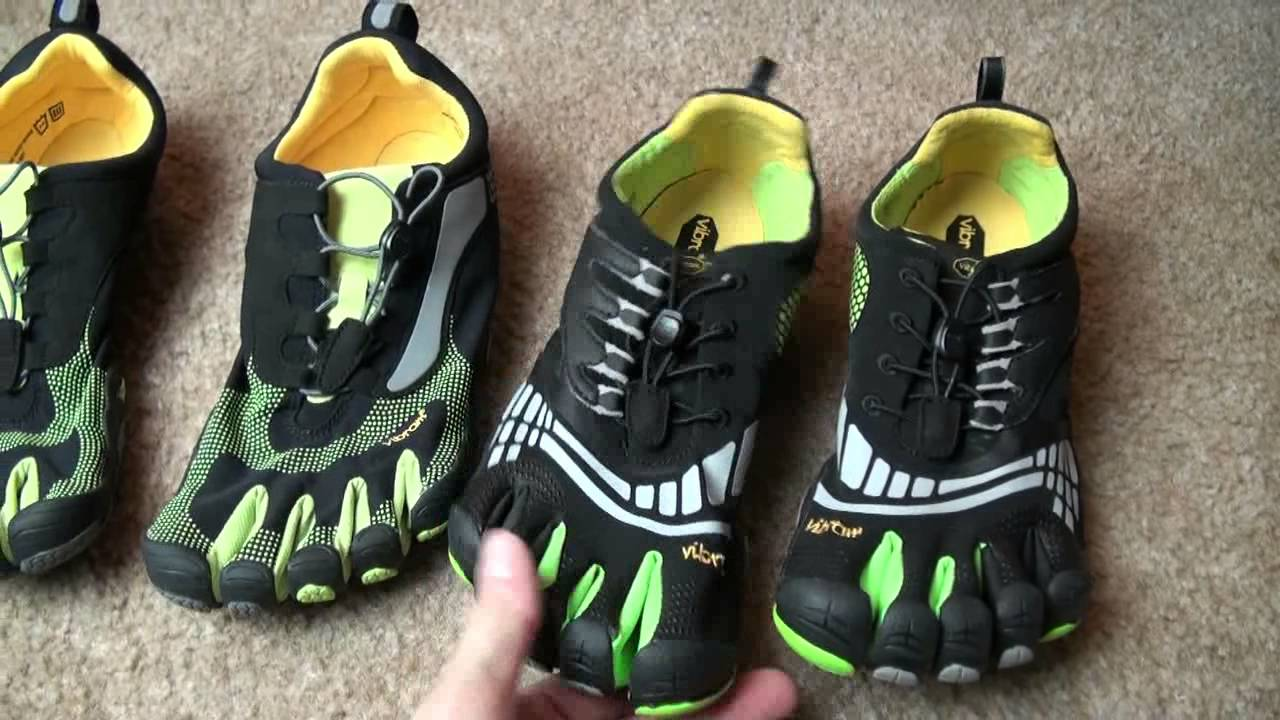 Vibram Bikila LS vs. Komodo Sport LS shoes - YouTube ccdb039ec