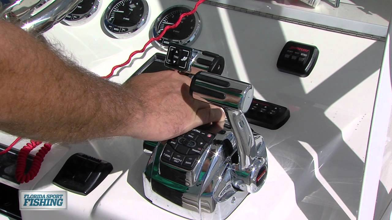 Mercury Marine Digital Throttle & Shift Controls - Florida Sport Fishing TV