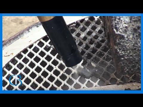 Ice Blasting Black Liquor off Pulp Mill Fan