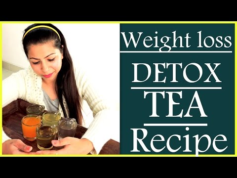 How to Make Healthy Detox Tea Recipe for Weight Loss