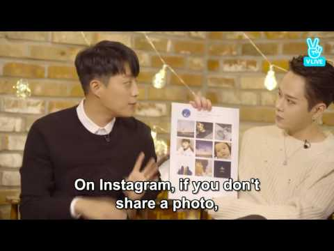 Behind the story of HIGHLIGHT Dujun Instagram Photo 😊 and Junhyung Suprise Birthday 🎂 on V Live