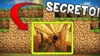 EASY STEPS: Minecraft Underground Secret Base!