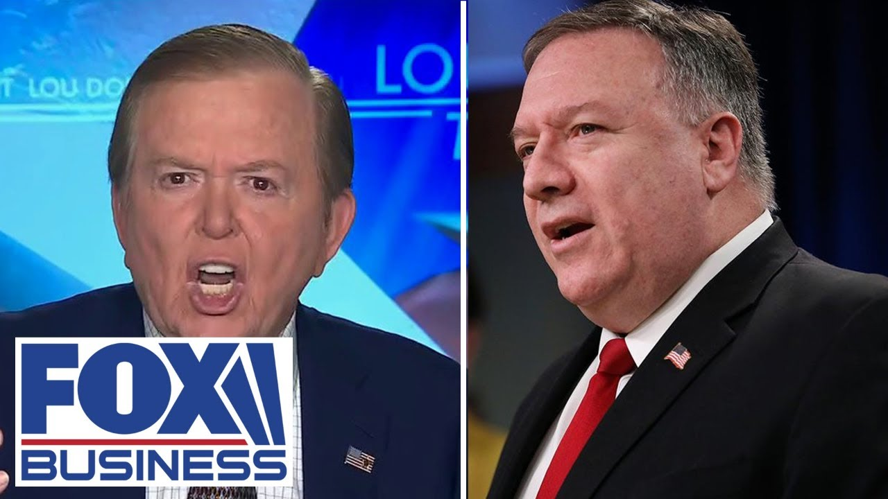 Lou Dobbs fumes over Pompeo's mysterious meeting in Hawaii with Chinese officials