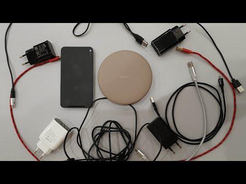 Беспроводная зарядка как работает видео