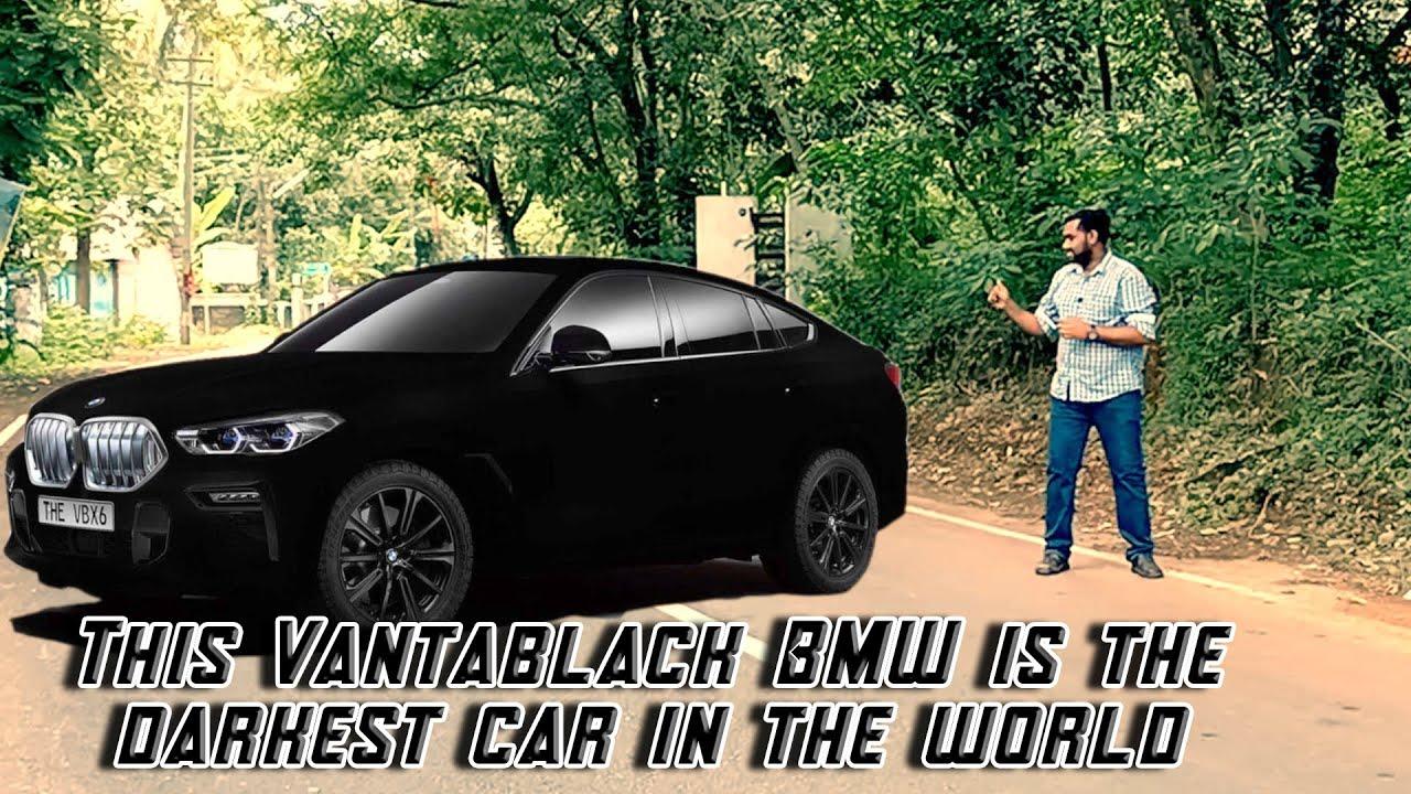 Download This Vantablack BMW is the darkest car in the world