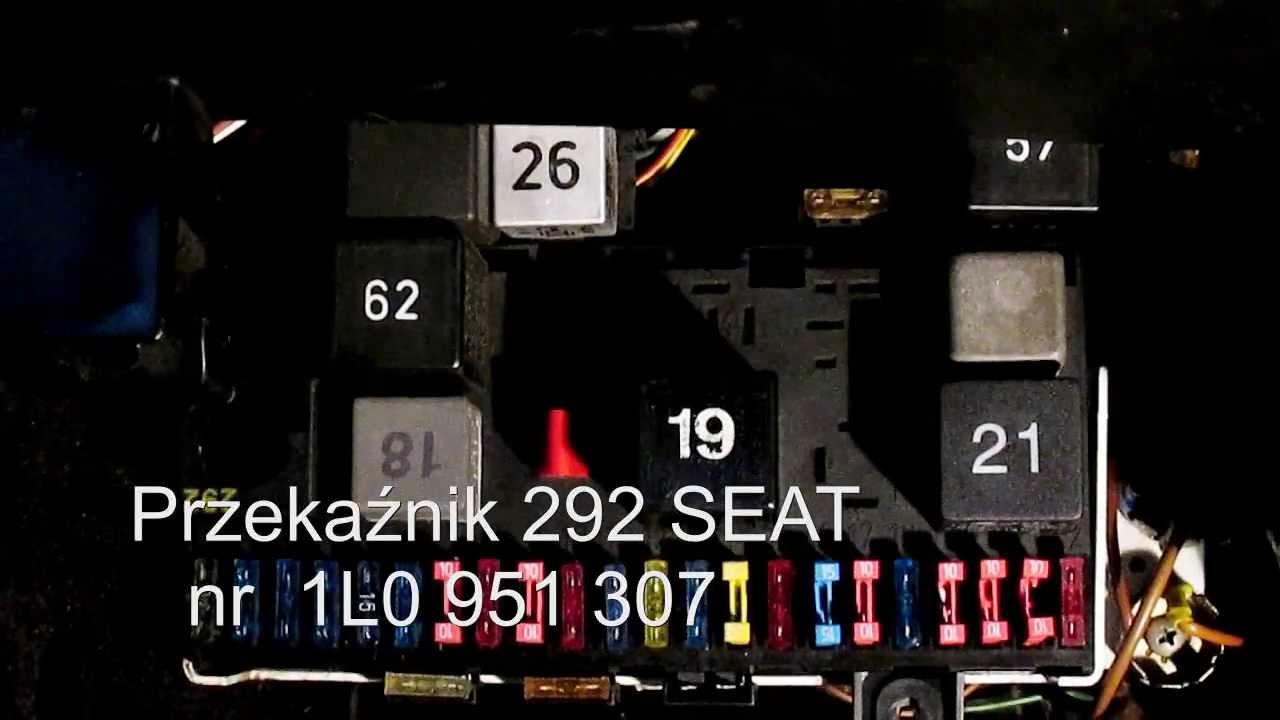 Dzwiek Przekaznikow 292 VW I Seat W VW Scirocco Mk2 YouTube