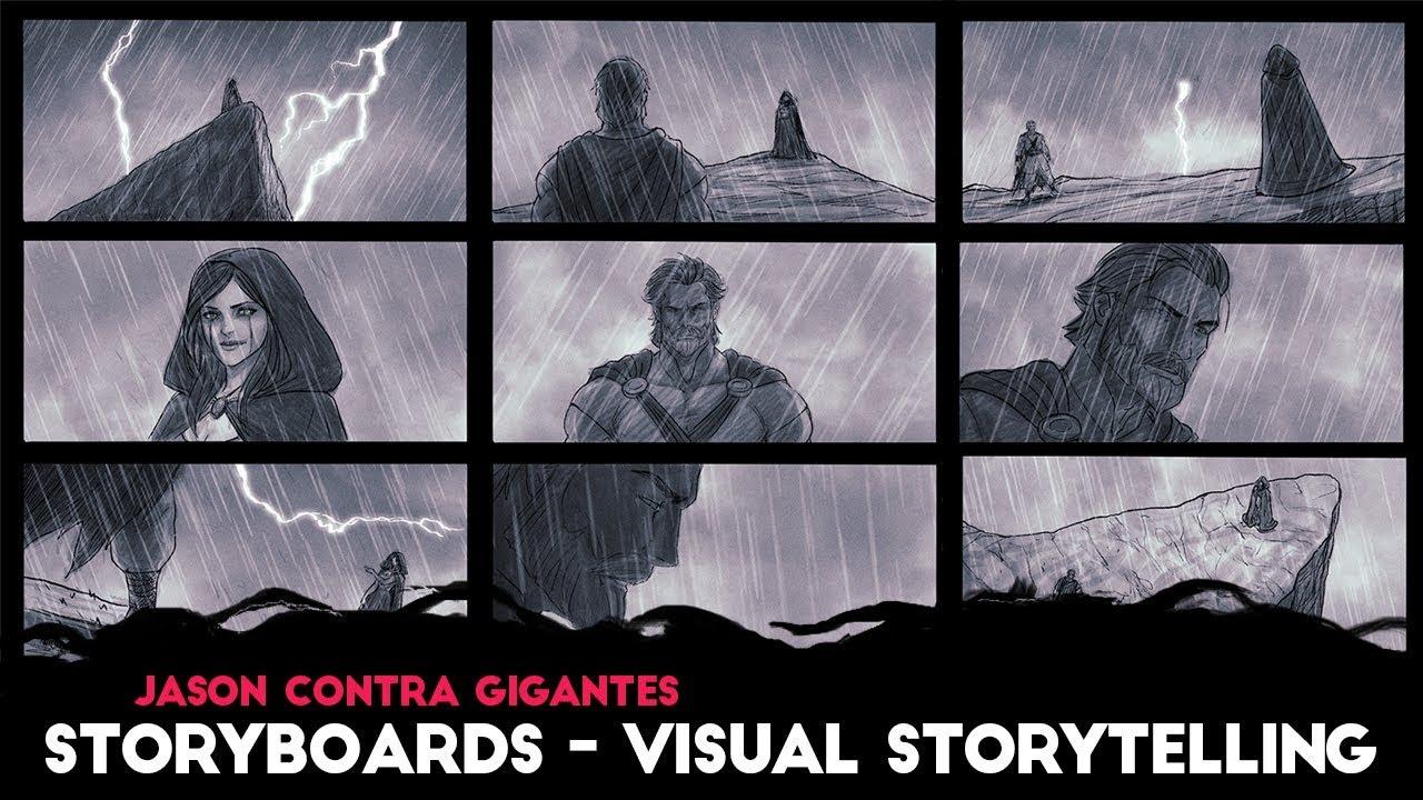 Visual Storyboards | Jason Contra Gigantes Storyboards Visual Storytelling Youtube