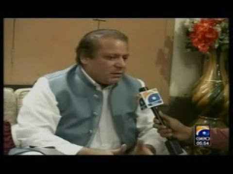 Nawaz Shareef Interview(Funny) MUST MUST WATCH!!