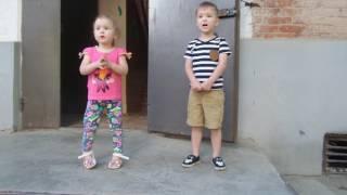 С днем России 2017! Гимн поют дети.