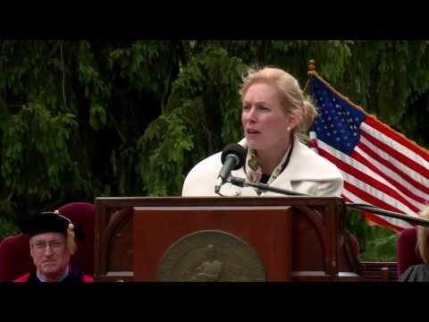 Commencement Speaker Kirsten Gillibrand, US Senator For NY