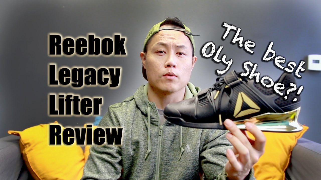Reebok Legacy Lifter Review - YouTube d022691ab