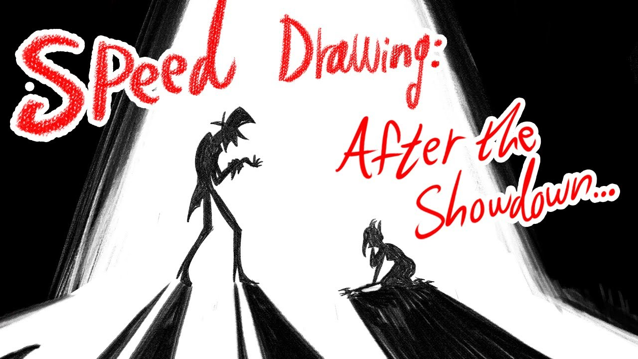 Speed Drawing: After The Showdown