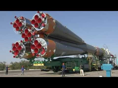 Expedition 52-53 Soyuz Vehicle is Prepared for Launch in Kazakhstan