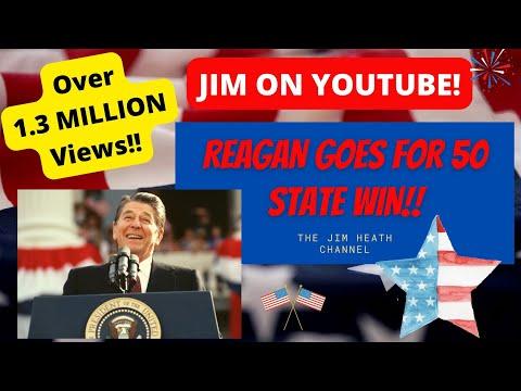 Reagan Electoral Votes '84