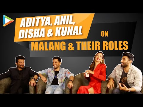 Aditya, Disha, Anil & Kunal on Malang & their roles| Hilarious Quiz| Mohit Suri