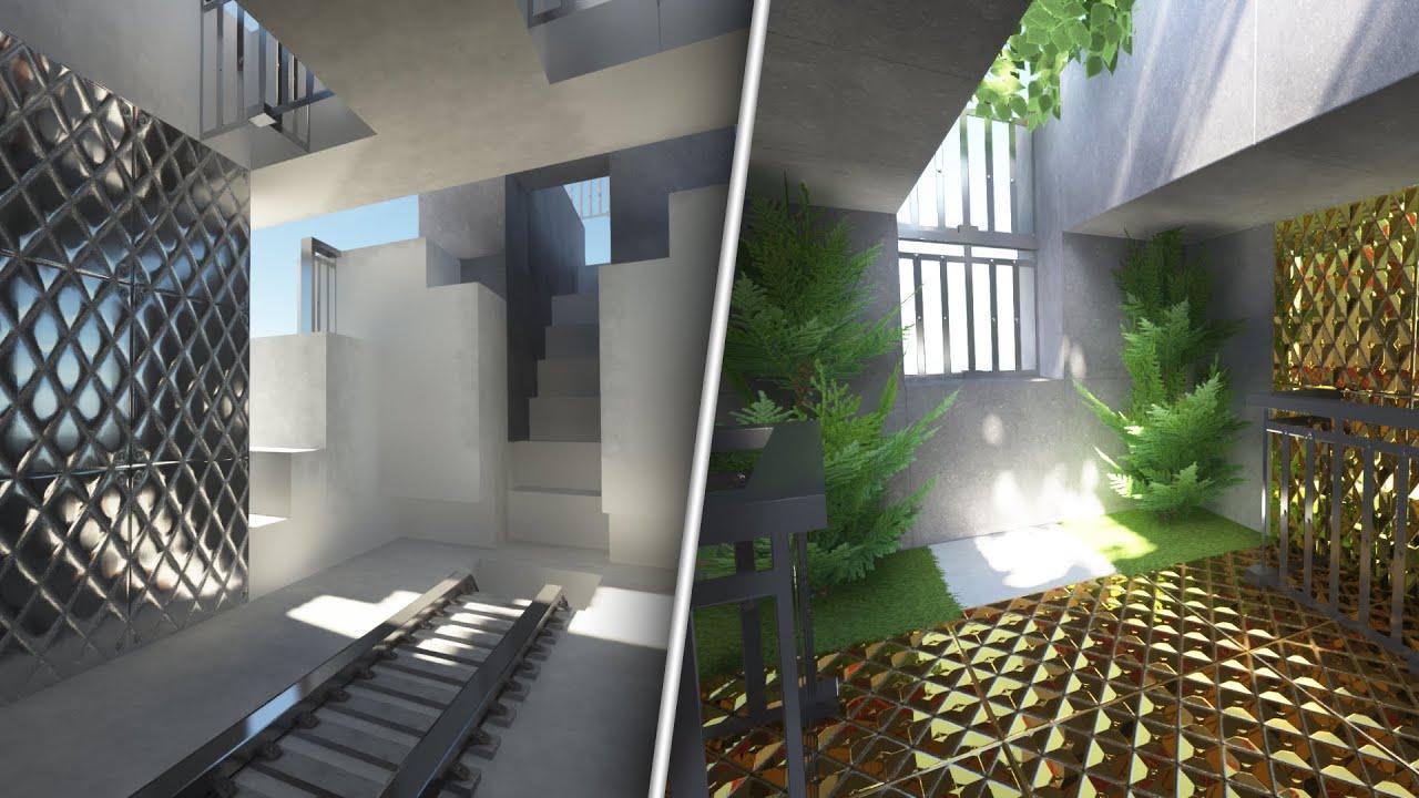 Minecraft 2020 INSANE Graphics with SEUS PTGI RTX + Realism Mats Texture Pack