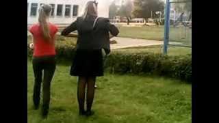урок физкультуры в школе №19