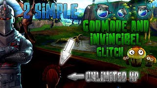 2 NEW*Simple Fortnite Glitches!! NEW Insane Invincibel,Wallbreach and Godmode Glitch!! [XP Glitch!!]