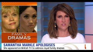 Samantha Markle's Fake Apology to Meghan (2018)