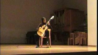 """Silvia Cignoli plays """"Nightly"""" by A. Tremolada"""