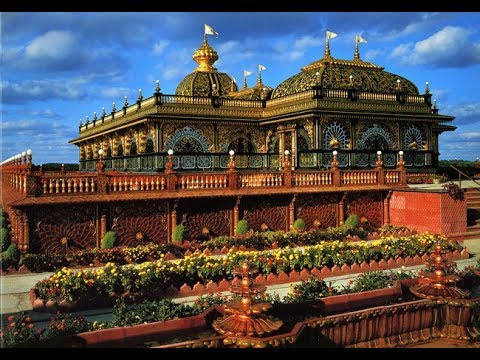 Best Krishna's Temple in America, New Vrindaban, Palace of Gold