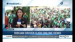 Ribuan Driver Ojek Online Demo di Surabaya thumbnail