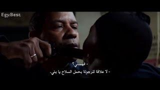 مشهد مؤثر لأسطورة التمثيل دينزل واشنطن من فيلم The Equalized 2