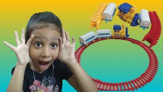 Mini Battery Operated Toy Train Set for kids | Train Toys for children,Toddlers