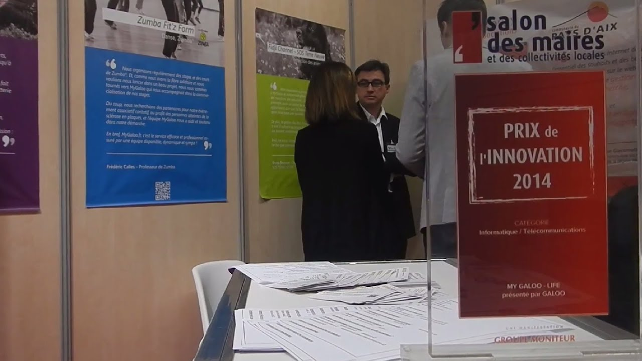 Mygaloo au salon des maires 2014 youtube - Salon des maires et des collectivites locales ...