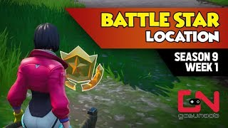 Fortnite Season 9 - Secret Battle Star Location in Loading Screen - Week 1