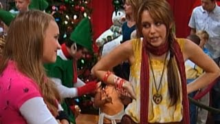 Сериал Disney - Ханна Монтана (Сезон 3 Серия 4) Изъяны и предубеждения l Новый год и Рождество