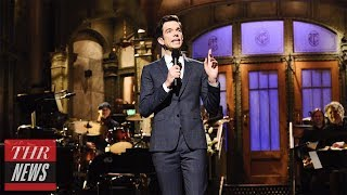 "'SNL' Rewind: John Mulaney Returns to Host, Brings ""Diner Lobster"" Follow-Up 