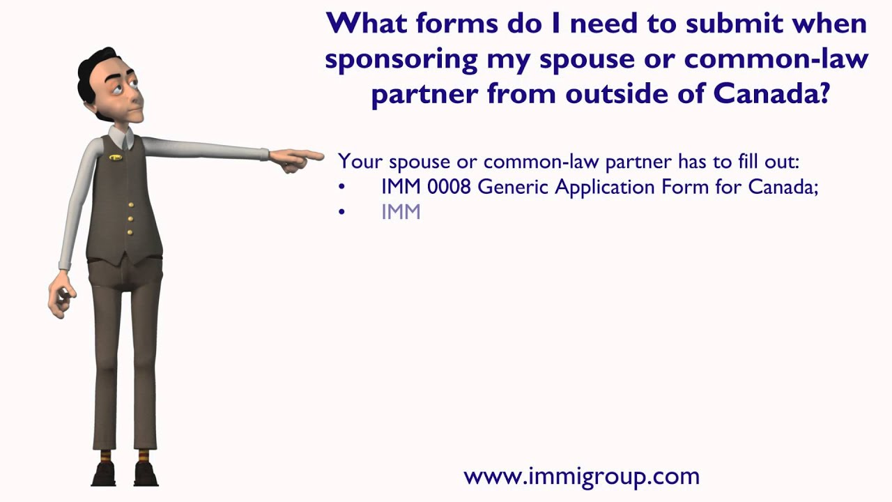 What forms i need to submit when sponsoring my spouse or common law what forms i need to submit when sponsoring my spouse or common law partner from outside canada youtube spiritdancerdesigns Images