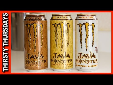 Java Monster ★ Coffee Plus Energy - Vanilla Light, Mean Bean & Loca Moca