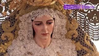 Virgen de la Aurora (Resurrección) por Campana, Cuesta del Bacalao y Dueñas (S. Santa Sevilla 2018)