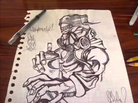 Bosetos De Graffitis Chidos ( Mawe )