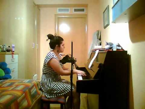 Me singing Alejandro by Lady Gaga (piano version) - A special video :)