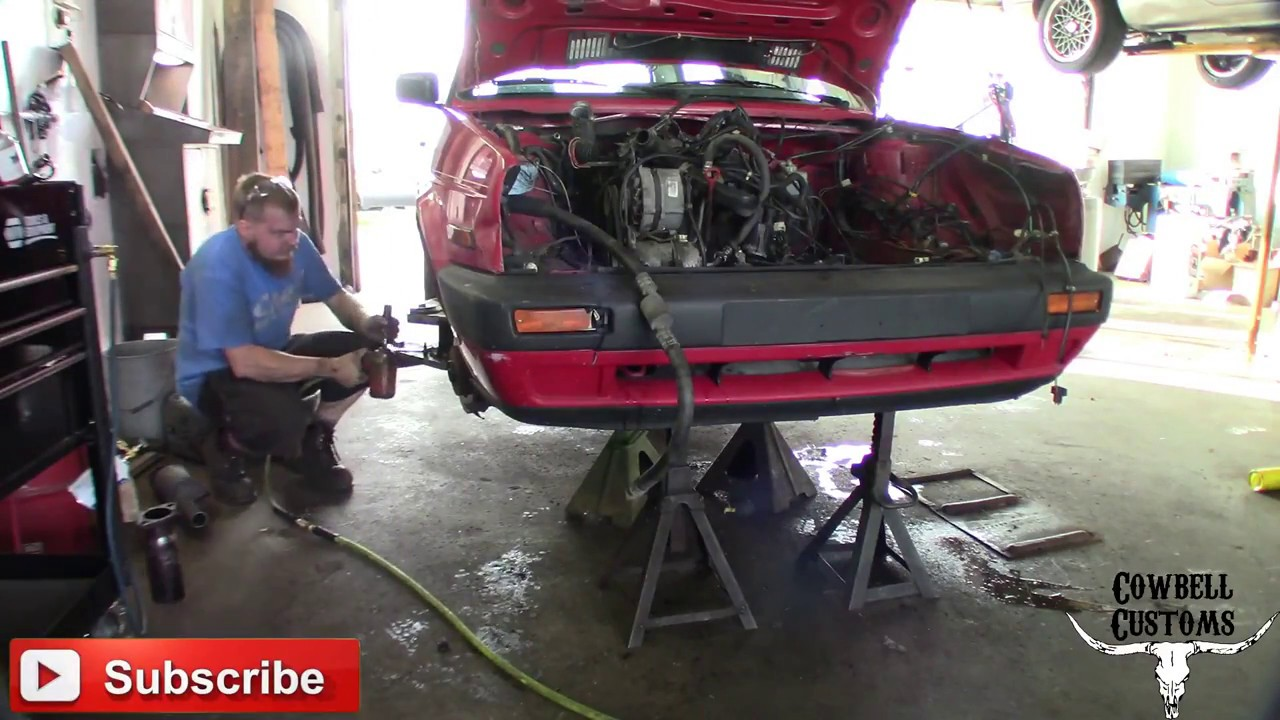 Bye Bye 1 8 Hello VR6! MK2 VR6 Swap Engine Installation