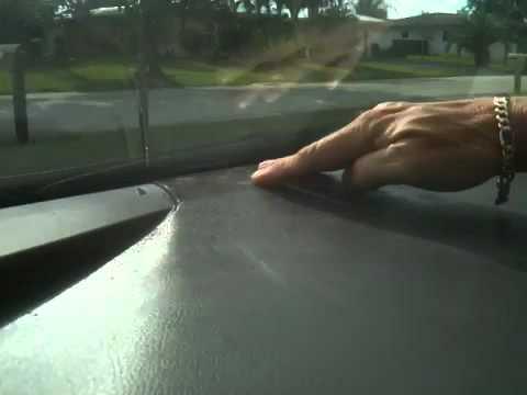 Toyota Camry Sticky Dashboard