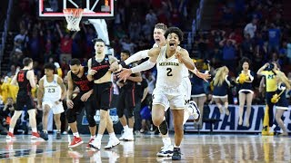 Gambar cover Watch last 90 seconds of Michigan's miraculous buzzer-beater win in 2018 NCAA tournament