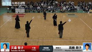 Ippons Round3-FINAL - 57th All Japan Women's KENDO Championship
