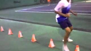 Lo mejor en entrenamiento físico para deportistas y no deportistas. En este caso: Tenis. Alto rendimiento, FVT. Caracas, Venezuela. Gracias.