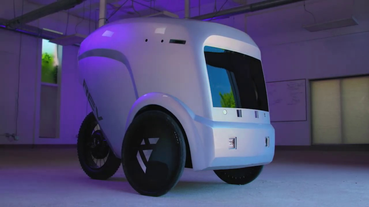 This last-mile delivery startup wants to put robots in bike