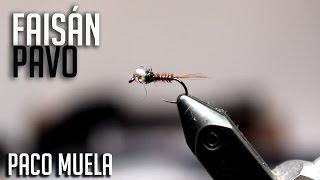 Ninfa de Faisán y Pavo Real, por Paco Muela | Montaje The FlyCenter