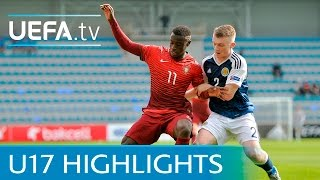 See how Portugal kept up their 100% record in Group A at the 2016 U...