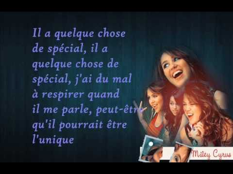 Miley Cyrus - He could be the one - Traduction