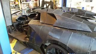 3D printed Aventador (AXAS Interceptor)