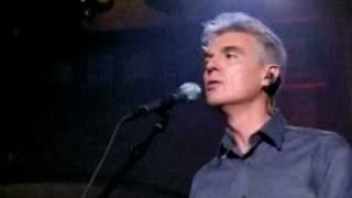 David Byrne - The Great Intoxication - LIVE at Union Chapel