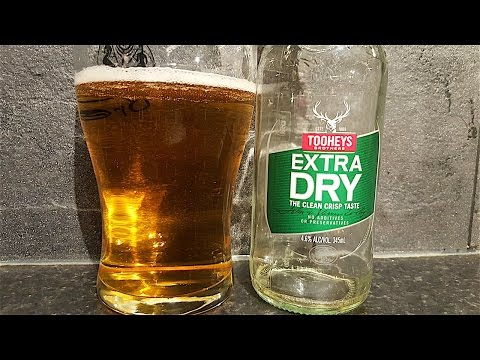 Tooheys Extra Dry Lager By Tooheys Brothers   Australian Beer Review